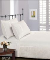 WHITE COLOUR MODERN STYLISH PLAIN PATTERN COTTON DUVET QUILT COVER SET